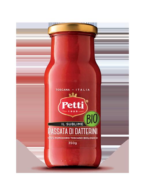 Passata di Datterini Bio Petti con pomodoro toscano - Il sublime