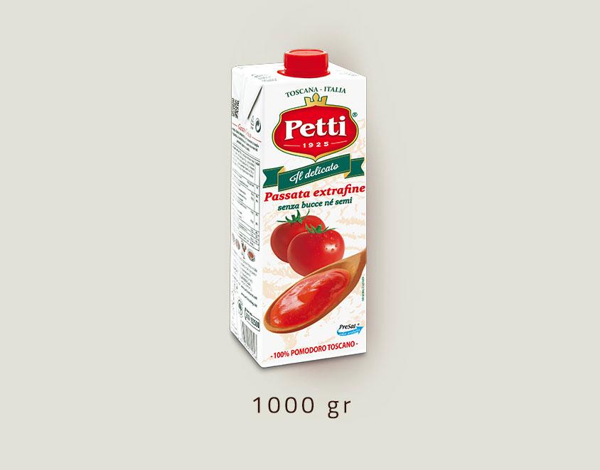 """""""Il Delicato"""" - passata di pomodori extrafine - confezione da un litro"""