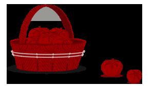 icona cestino rossa