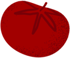 icona pomodoro rossa