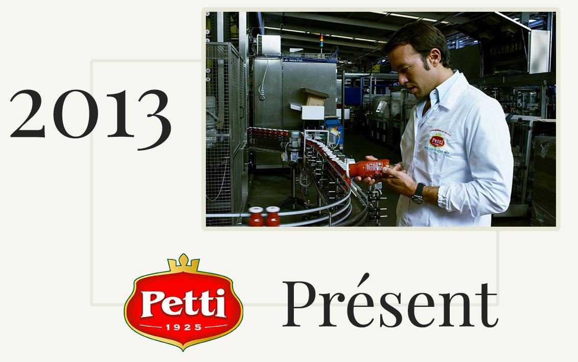 petti histoire present