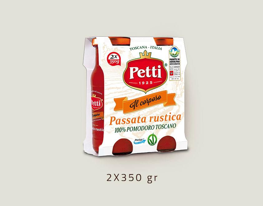 """""""Il Corposo"""" - passata rustica di pomodori - confezione doppia da 350 grammi"""