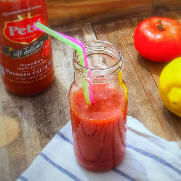 Detox al pomodoro e limone: la ricetta | Pomodoro Petti