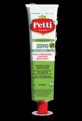 """""""L'essenziale Bio"""" Organic Double Concentrated Tomato Paste - Petti Tomato"""