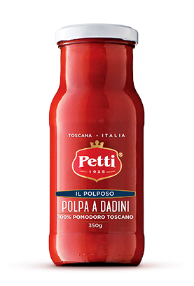 Polpa di Pomodoro a Dadini - Confezione Il Polposo Petti