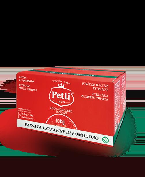 """""""Il Delicato"""" Extra Fine sieved tomatoes - Petti Tomato - Food Service"""