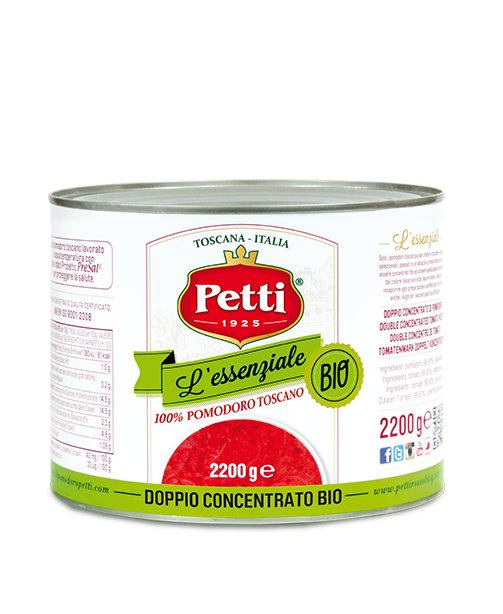 """L'Essenziale Bio"" - Petti organic double concetrated tomatoes - Food Service"