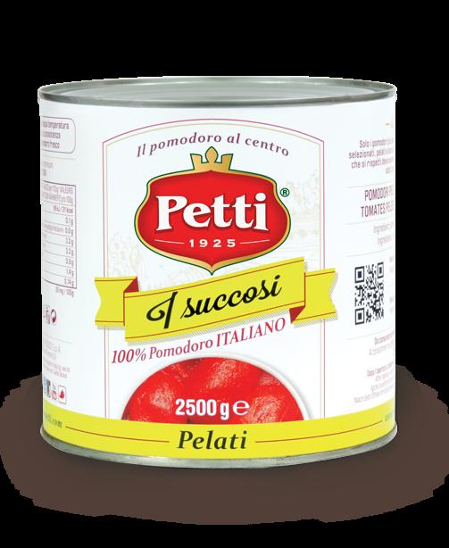 """I Succosi"" - Pomodori pelati Petti - Food Service"