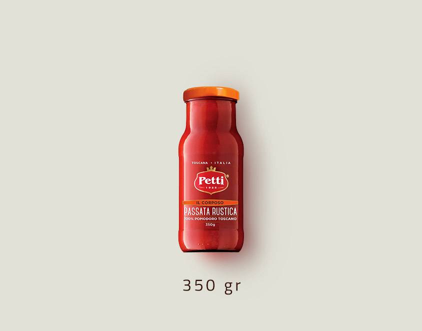 """""""Il Corposo"""" - passata rustica di pomodori - confezione da 350 grammi"""