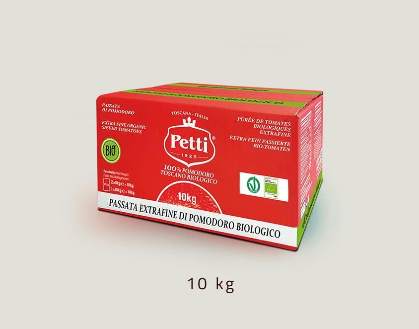 """""""Il Delicato Bio"""" - Passata di Pomodoro biologico Extrafine: Confezione da 10kg"""