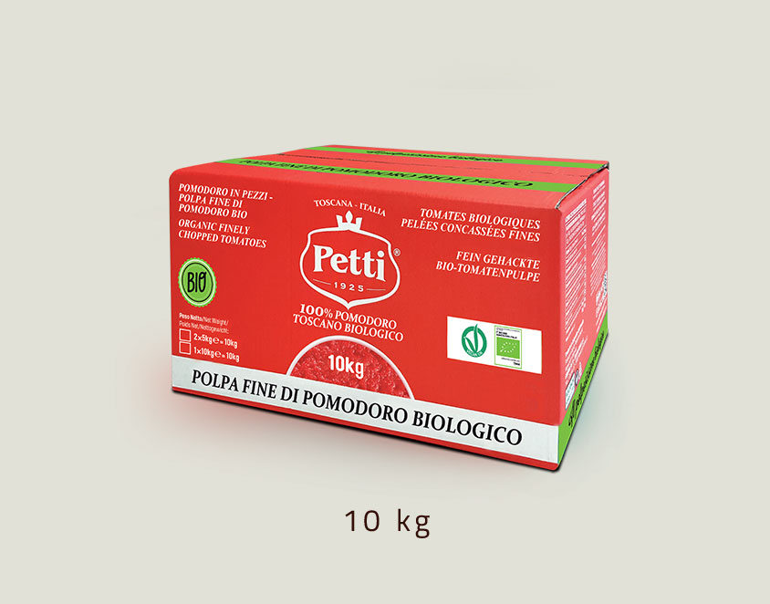 """""""Il Polpissimo Bio"""" - organic crushed tomatoes: 10 kg pack"""