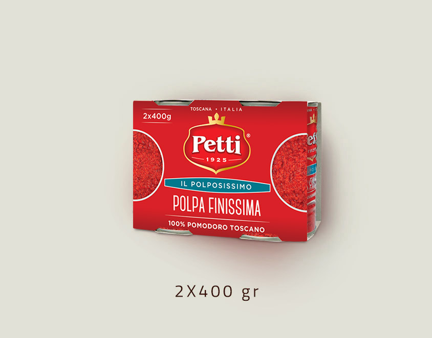 """Il Polpissimo"" Crushed tomatoes - double 400 gr pack"