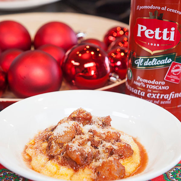 Calamari ubriachi con la polenta: la ricetta | Pomodoro Petti