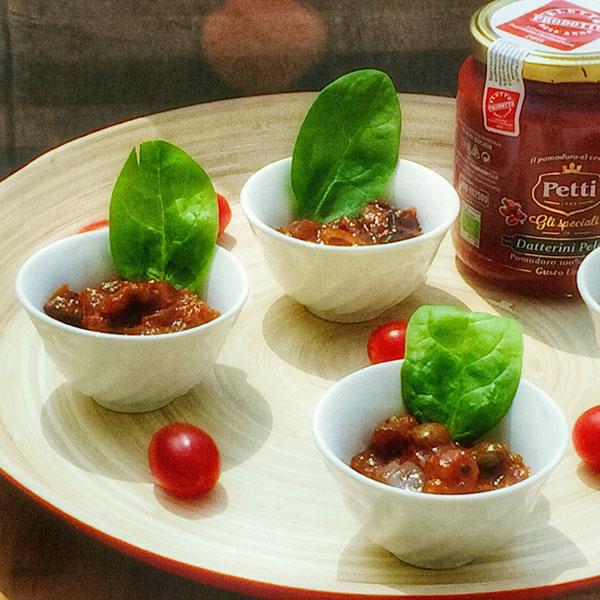 Finger di caponata: la ricetta | Pomodoro Petti