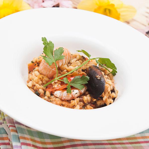 Fregola sarda con frutti di mare e datterini: la ricetta | Pomodoro Petti