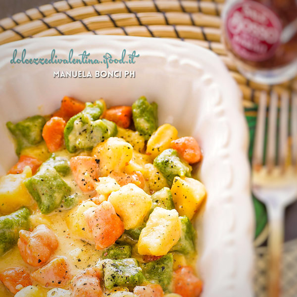 Colourful Gnocchi with concentrated tomato | Petti Recipes