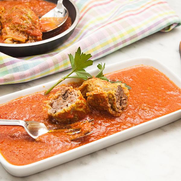 Involtini di verza: la ricetta | Pomodoro Petti