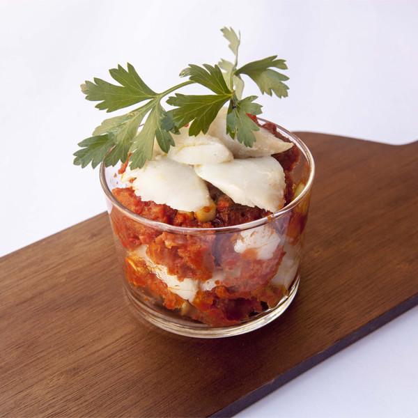 Panzanella di baccalà: la ricetta | Pomodoro Petti