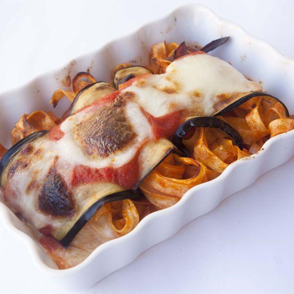 Involtini di melanzane e tagliatelle al forno: la ricetta | Pomodoro Petti