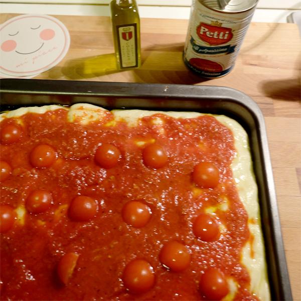Focaccia del levante: la ricetta | Pomodoro Petti