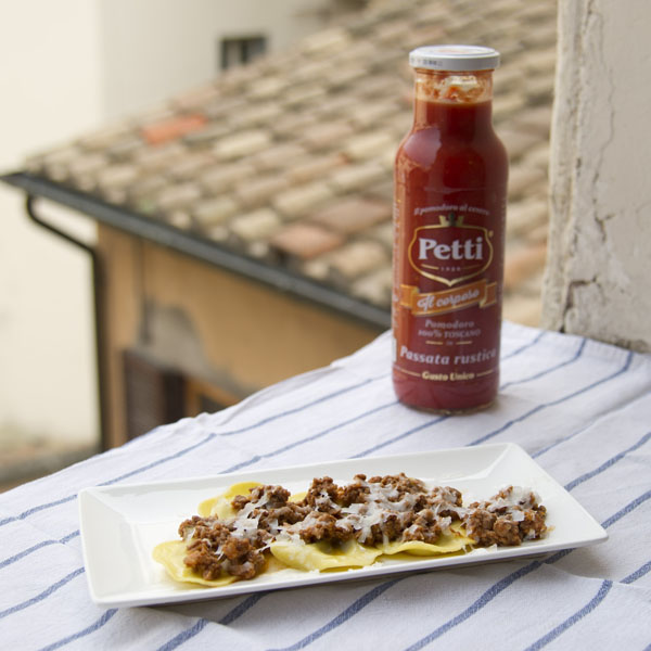 Tortelli Maremmani with ragù | Petti Tomato - Petti Recipes