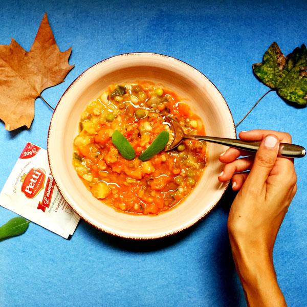 Zuppa vegana ai cereali e legumi: la ricetta | Pomodoro Petti