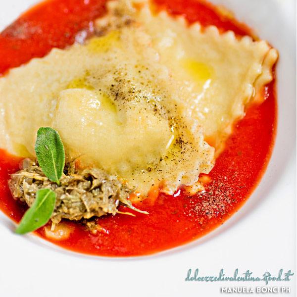 Ravioli con ripieno ai carciofi: la ricetta | Pomodoro Petti