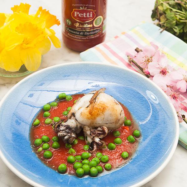 Buridda di seppie e piselli: la ricetta | Pomodoro Petti