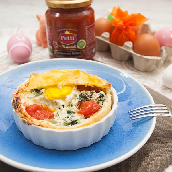 Tortina pasqualina: la ricetta | Pomodoro Petti