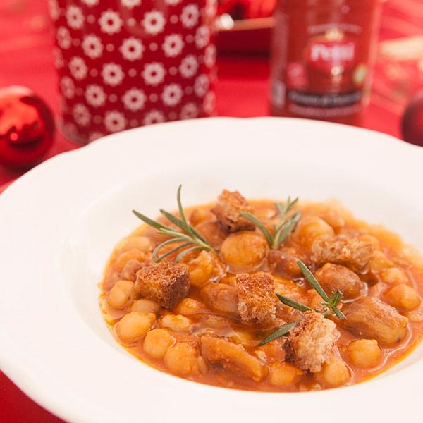 Zuppa saporita di ceci e castagne: la ricetta | Pomodoro Petti