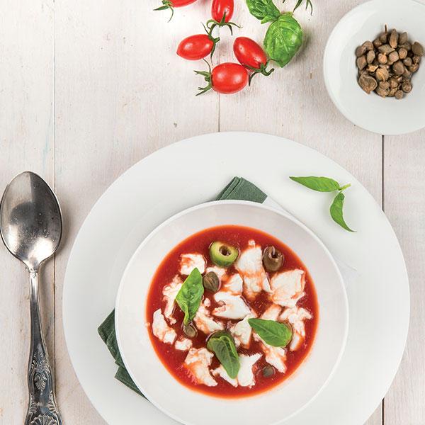 Crema di pomodoro con straccetti di mozzarella di bufala: la ricetta | Pomodoro Petti
