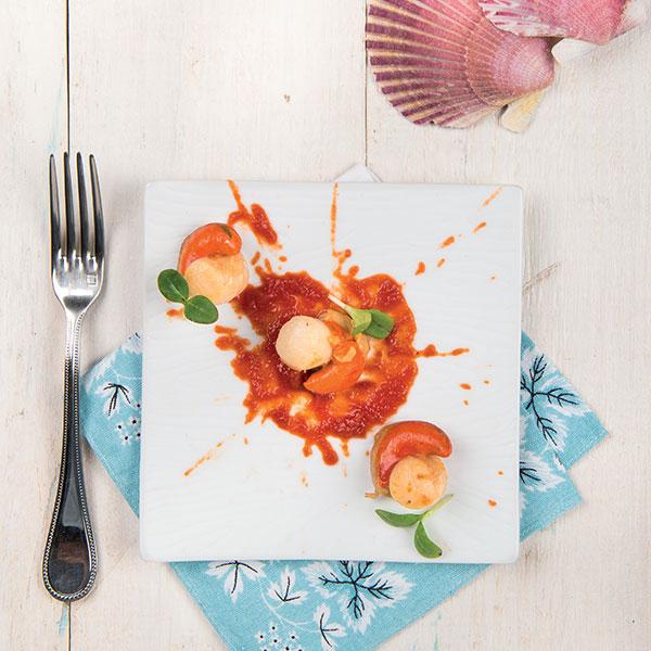 Capesante con salsa allo zenzero: la ricetta | Pomodoro Petti