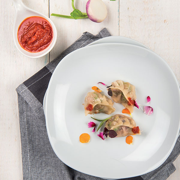 Ravioli di verdure orientali al profumo di zenzero: la ricetta | Pomodoro Petti