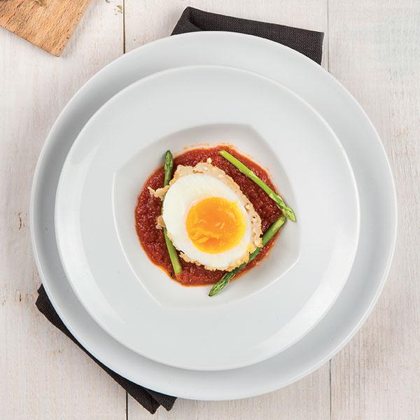 Uovo panato affogato in salsa tartufo: la ricetta | Pomodoro Petti